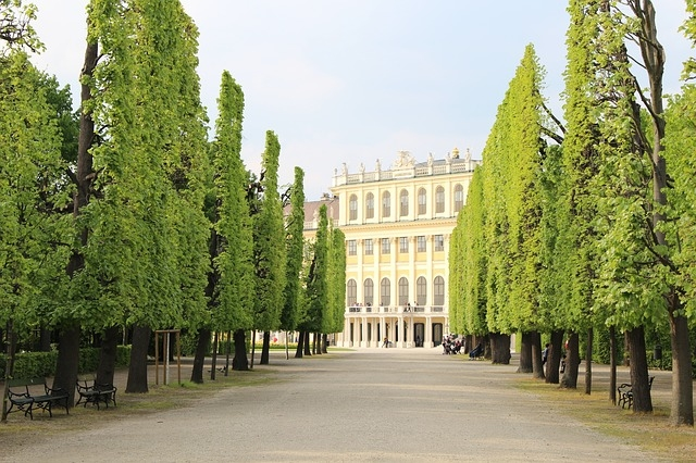 Schönbrunn - Laufstrecken in Wien